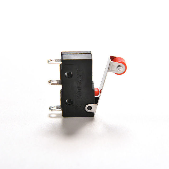 10pcs/lot AC 5A 125V 250V Micro Roller Lever Arm Normally Open Close Limit Switches|Switches|   -