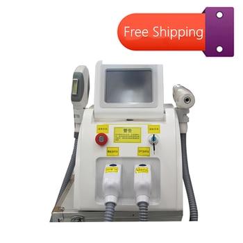 цена на Multifunctional E-Light IPL OPT SHR Permanent Hair Removal Machine 532nm/1064nm/1320nm Tattoo Removal Beauty Equipment