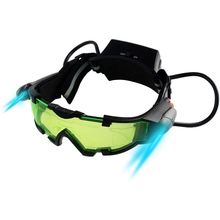 Night Vision Goggles Adjustable Kids LED Night Goggles for Racing Bicycling Hunting to Protect Eyes Children Gift