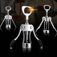 Wine Opener Wing Type Plastic Bottle Openers Tools Cork Out Handle Waiter With Arms Zinc Alloy stainless steel Corkscrew