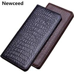 На Алиэкспресс купить чехол для смартфона luxury business genuine leather magnetic holder thin cases for nubia z20/nubia z18/nubia z17/nubia z17s flip holster cover coque