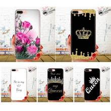 Soft Silicone TPU Transparent New Fashion Reina Y Rey Corona For Xiaomi Redmi Note 2 3 3S 4 4A 4X 5 5A 6 6A Pro Plus(China)