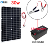 Xinpuguang Flexible Solar Panel 12v/18v 5w 10w 20w 30w Kit Home System Charger DC Usb For 5v Phone Car RV Battery Hiking Camping