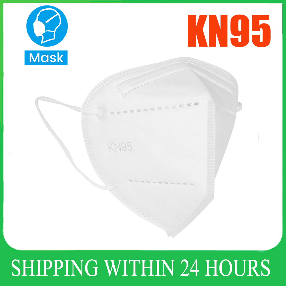 10/20/40/50/100pcs Anti Dust KN95 Masks Filter Face Mouth Mask Anti Fog for Personal Protect Home Mask In Stock wholesale price