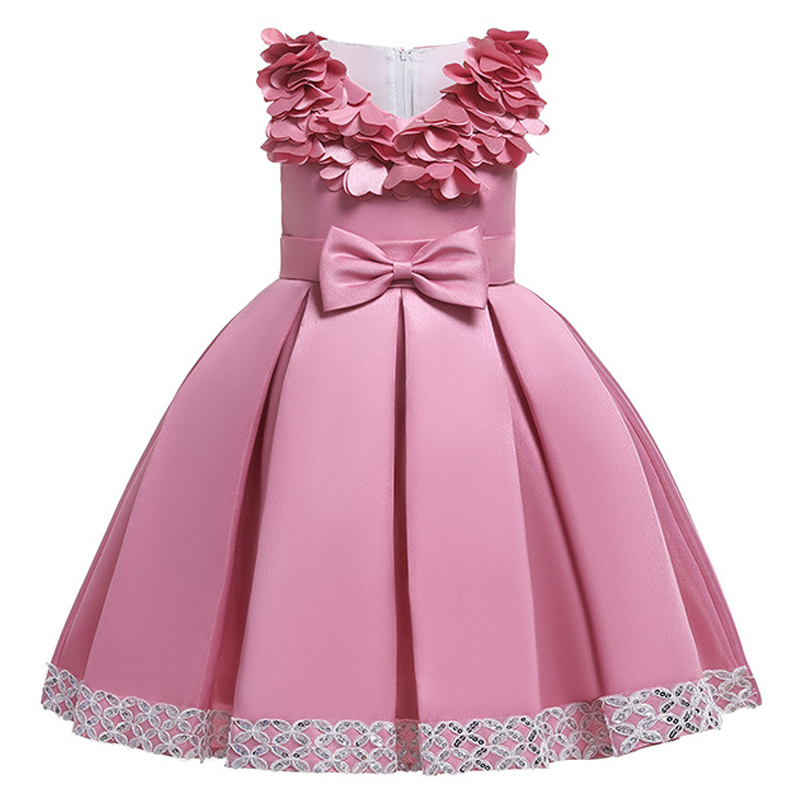 H708f79d99ef840b3a46d1b539732a366h Kids Dresses For Girls Elegant Princess Dress Christmas Children Evening Party Dress Flower Girl Wedding Gown vestido infantil