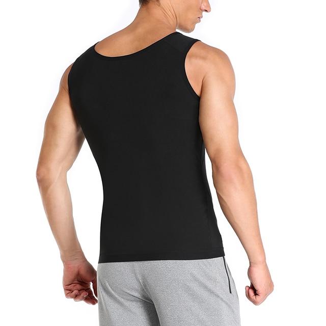 Men Neoprene Sweat Sauna Vest Body Shapers Vest Waist Trainer Slimming Tank Top Shapewear Corset Gym Underwear Women Fat Burn 5