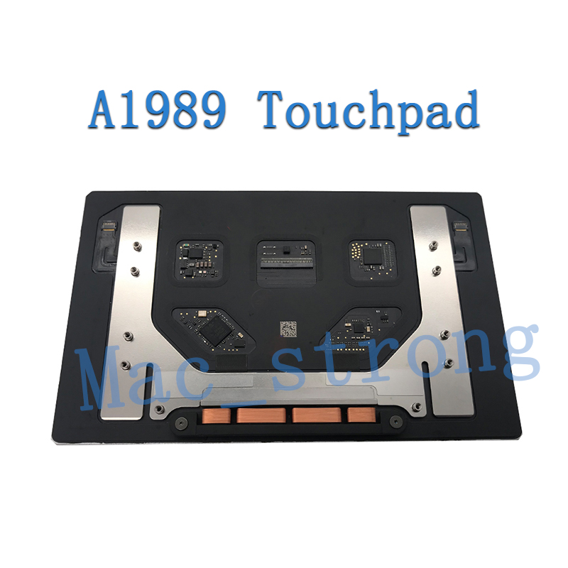 pro retina a1989 trackpad substituição cinza prata 2018