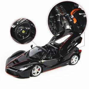 Image 4 - Bburago 1:24 FerrariสูงเลียนแบบรถDie หล่อโลหะรุ่นของเล่นเด็กของขวัญแฟนจำลองรถคอลเลกชัน