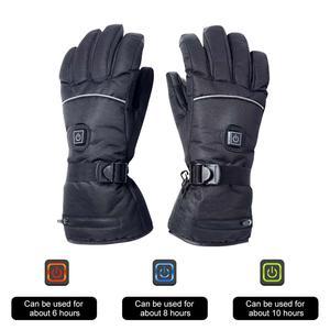 Image 2 - חשמלי מחומם כפפות עם טמפרטורת התאמת ליתיום סוללות כפפות סקי טיולים טיפוס נהיגה קר מזג אוויר