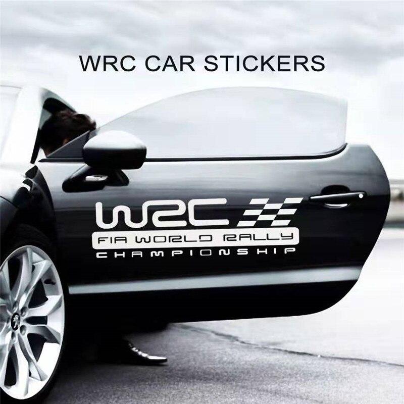 WRC стикер кузова автомобиля-ралли игра стикер-стикер отражающий стикер личности-стикер украшения автомобиля