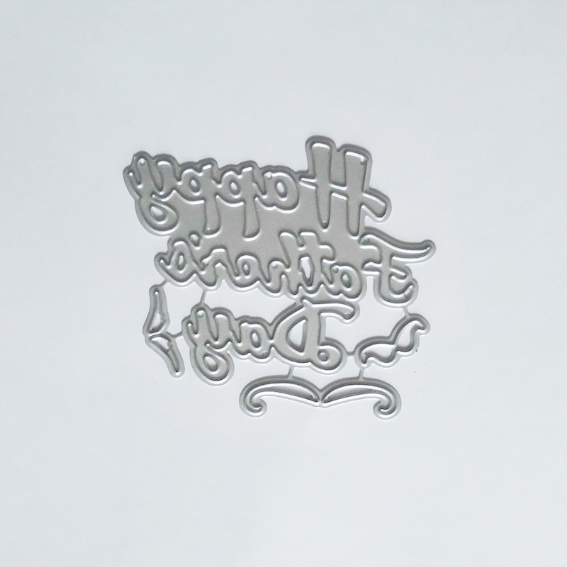 You Make Me Smile Die Cut Word Metal Cutting Dies Scrapbooking Album for Card Making Decoration Embossing Craft in Cutting Dies from Home Garden