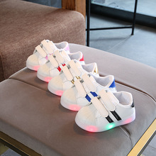 цены New brand hot sales kids shoes footwear high quality LED lighted baby boys girls sneakers shinning children sneakers