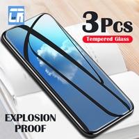 3Pcs 2,5 D Screen Protector für Samsung Galaxy S21 Plus Hinweis 20 10 S10 Lite M51 M31s A51 A50 a30 A20 A01 A10 A11 Gehärtetem Glas