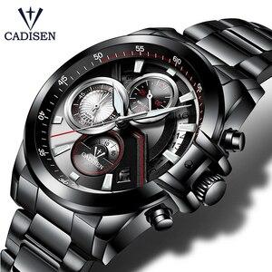 Image 1 - Cadison montre de sport pour hommes, marque de luxe, accessoire militaire, étanche, Quartz, acier inoxydable, tendance décontracté
