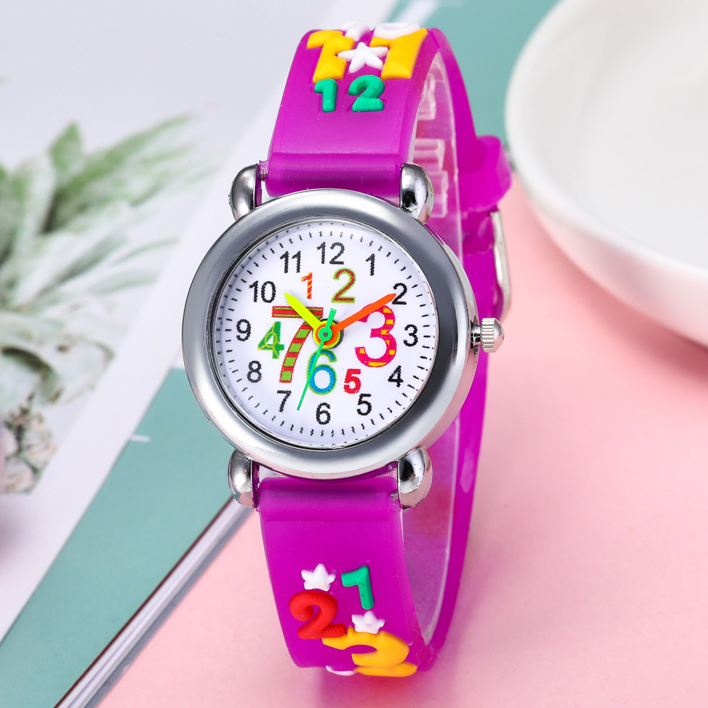 Children's watches hot children's gifts colorful silicone slap game watch for children sports watches children clocks and clocks
