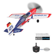 Nova Chegada A430 XK 2.4G Sistema RC Avião Motor Brushless 3D6G 5CH Aeronaves EPS RTF controle Remoto Futaba Compatível brinquedos # g4