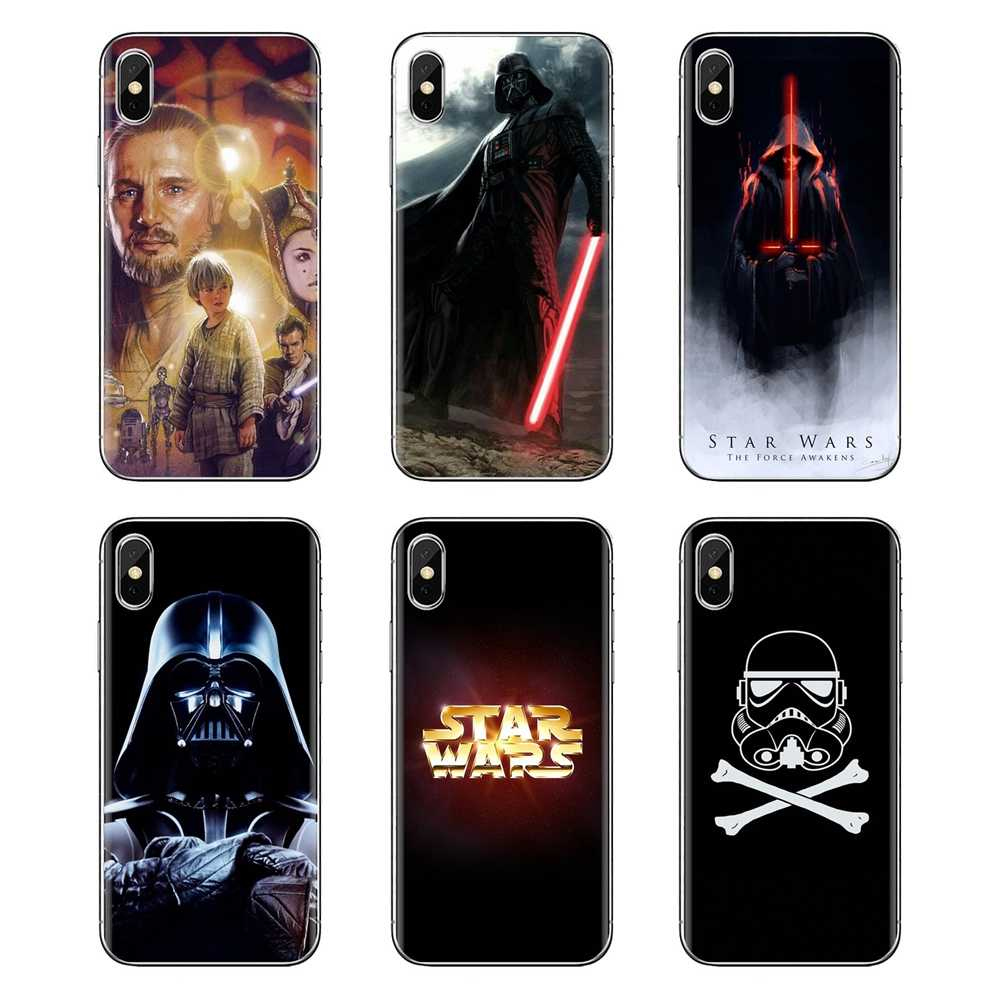 Saco de Silicone Caso Darth Vader Dark Force Desperta Para Huawei G7 G8 P7 P8 P9 P10 P20 P30 Mini Lite pro P Smart Plus 2017 2018 2019