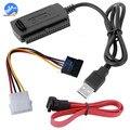 SATA PATA IDE для USB 2 0 адаптер Дата кабель для 2 5/3 5 Жесткий диск DVD конвертер Кабельная линия
