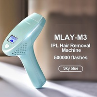 MLAY M3 Depilador a Laser Hair Removal Machine Pigmentation Apparatus with 500000 shots bikini hair remover epilador for women 1