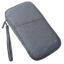 Дорожный кошелек для денег, держатель для паспорта, органайзер для документов, многофункциональная кредитная карта, кошелек хранилище, аксессуары, сумка