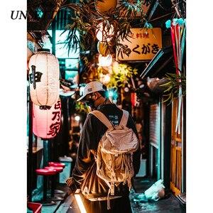 Image 4 - 2020 Autumn Harajuku Towel Embroidery Japanese Men/Women Hip Hop Pullover Hoodie Streetwear Sweatshirt  Casual Hipster Tops