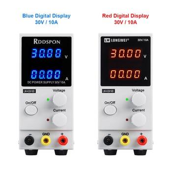 цена на 30V 10A Laboratory Power Supply 4 Digit Display Adjustable Switching DC Power Supplies Voltage Regulator LW-K3010D Laptop Repair