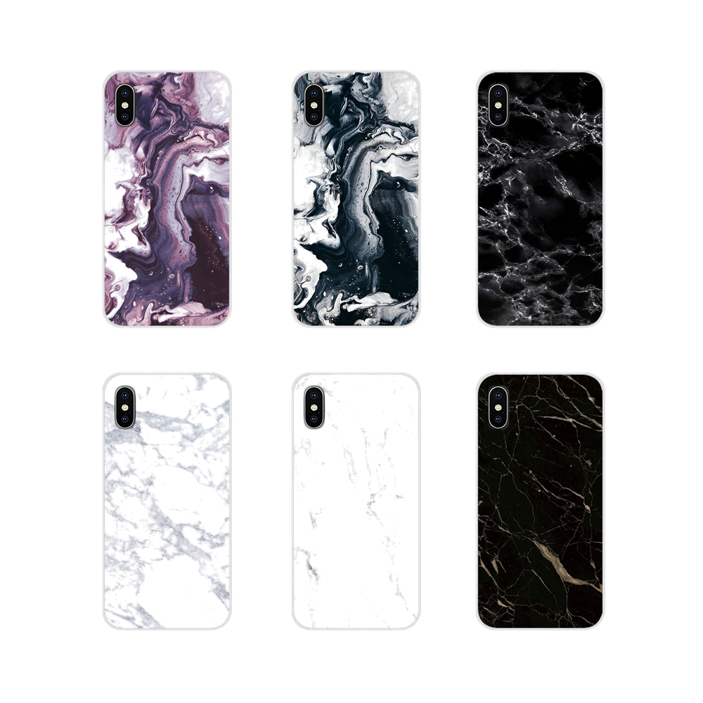 Accessories Skin <font><b>Case</b></font> White Black Marble Stone For <font><b>HTC</b></font> One U11 U12 X9 M7 M8 A9 M9 M10 E9 Plus <font><b>Desire</b></font> 630 530 626 628 <font><b>816</b></font> 820 830 image