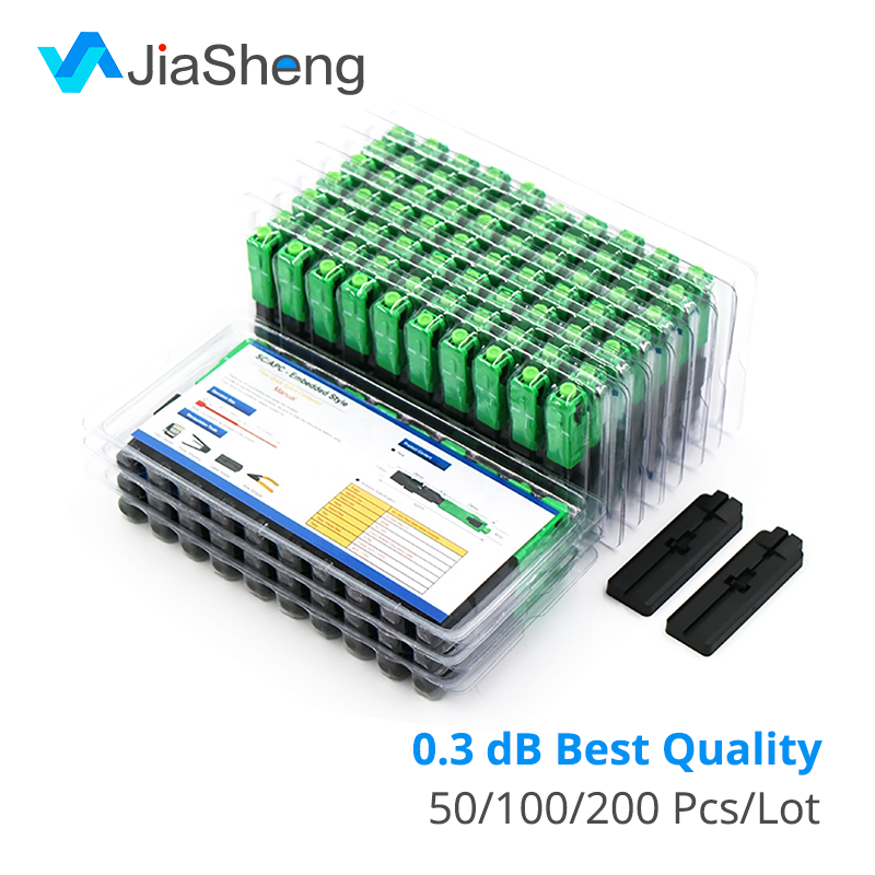 High Quality 0.3dB FTTH Fiber Optic Quick Connector FTTH SC/APC SM Fast Connector