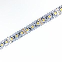 SMD3528 Farbe Temperatur Einstellbar & Dimmbare Led-leuchten DC12V WW + CW 2 farbe in 1 LED CCT LED Streifen 120 leds/m 19,2 W/m 5 m/Reel