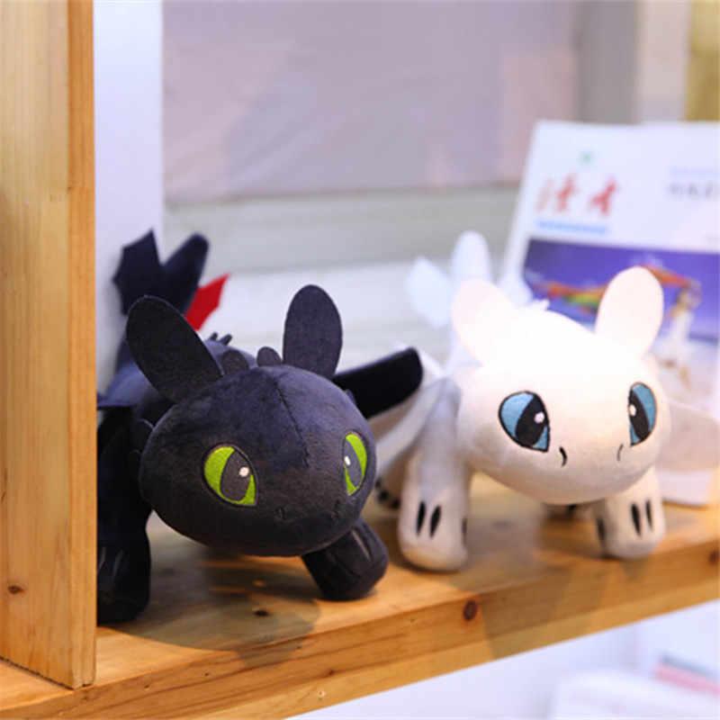 14-35CM Nova Como Treinar O Seu Dragão 3 Thoothless Plush Bichos de pelúcia Boneca Brinquedos para Crianças Crianças presente