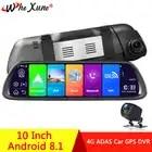 WHEXUNE Auto Dash Cam Kamera 4G Android 8.1 ADAS Spiegel Stick Recorder dvr GPS Navigator Auto FHD 1080P wifi video Registrator