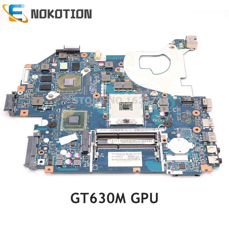 NOKOTION MB.BYX02.001 MBBYX02001 LA-6901P Main Board For Acer Aspire 5750 5750G Laptop Motherboard HM65 DDR3 GT630M Gpu