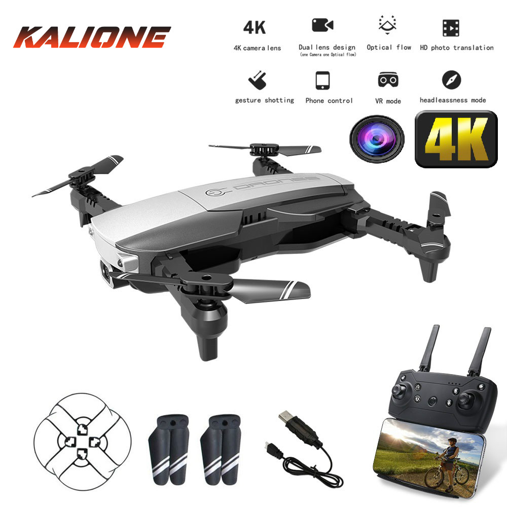 RC Mini quadcopter drones 4k with HD camera optical flow drone profissional WIFI FPV quadrocopter with camera  pocket drone DRON