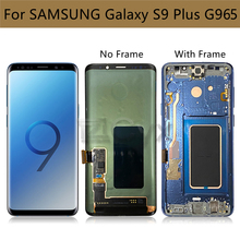 For Samsung Galaxy S9 Plus Display G965F G965U Lcd Screen S9+ Display Touch Screen Digitizer Assembly with Frame Replacement