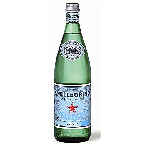 San Pellegrino Sparkling Mineral Water Glass Bottle 1x750ml