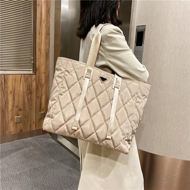 Large Nylon Pillow Bag  1