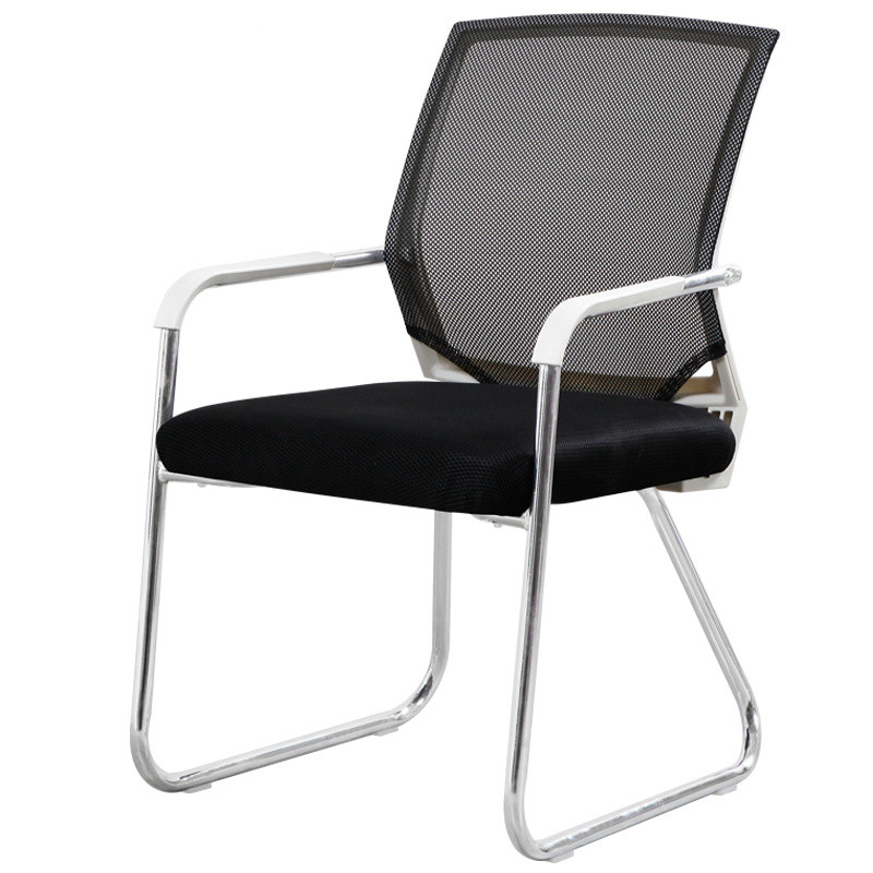 Office Chair Simple Dormitory Chair Mahjong Chair Stool Back Comfortable Computer Chair Home Office Conference Chair