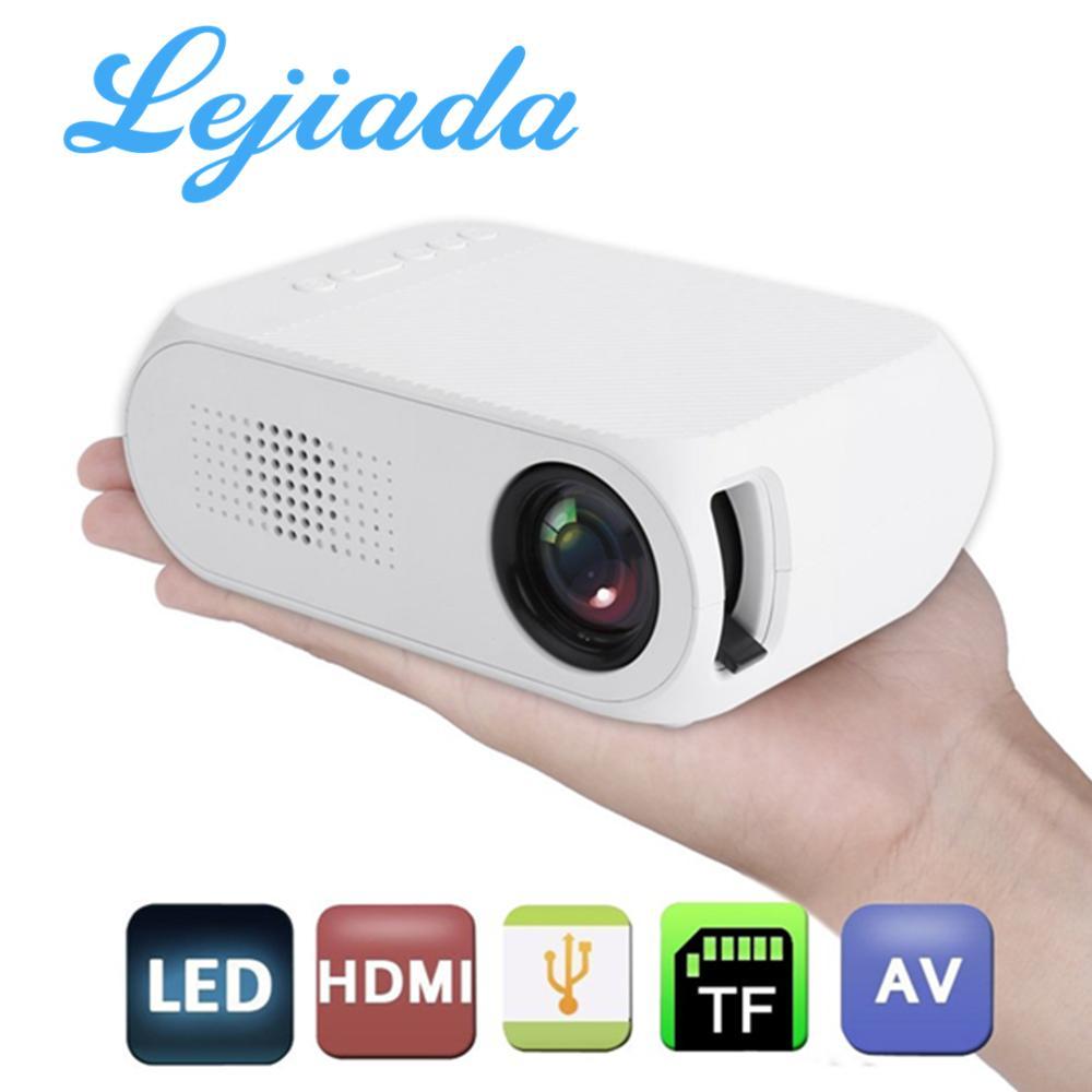 YG320 Portable Mini 1080P 3D WIFI 600 Lumens LED Projector HDMI//USB//AV