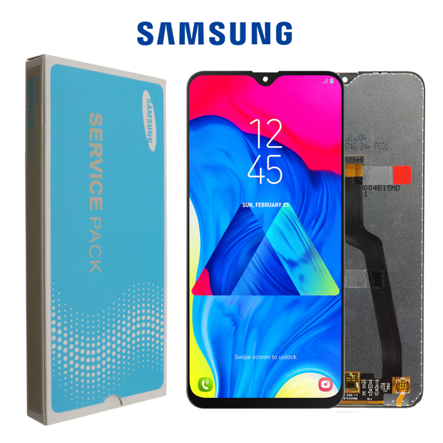 ORIGINAL 6.2 LCD สำหรับ SAMSUNG Galaxy M10 2019 จอแสดงผล SM M105 M105F M105G/DS Touch Screen Digitizer ASSEMBLY + แพคเกจบริการ