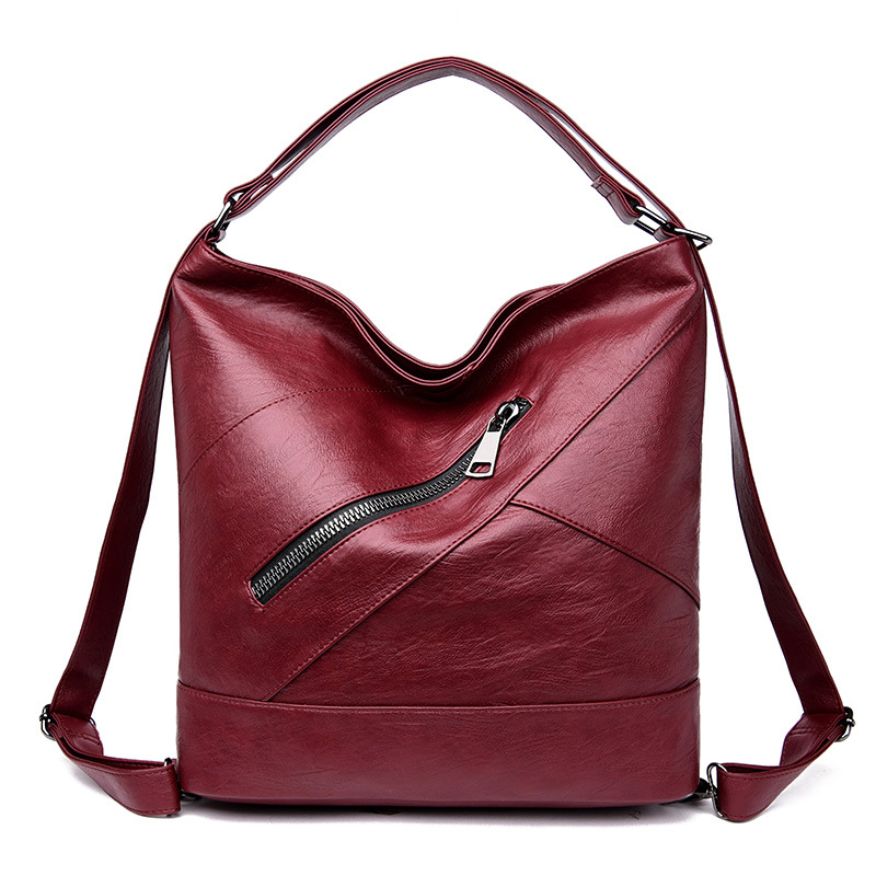Brand Luxury Bag Women's Genuine Leather Ladies Shoulder Bag Vintage Fashion Female Tote Hand Bags For Women 2019 Bolsa Feminina
