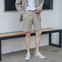 2019 summer new shorts men's slim section five pants men's Korean version of the trend of youth wild casual pants