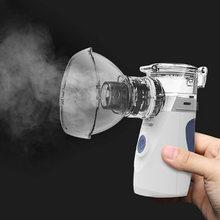 ELOOLE Mini Handheld Tragbare Inhalieren Vernebler Stille Ultraschall Inalador Nebulizador Kinder Erwachsene Wiederaufladbare Atomiseur