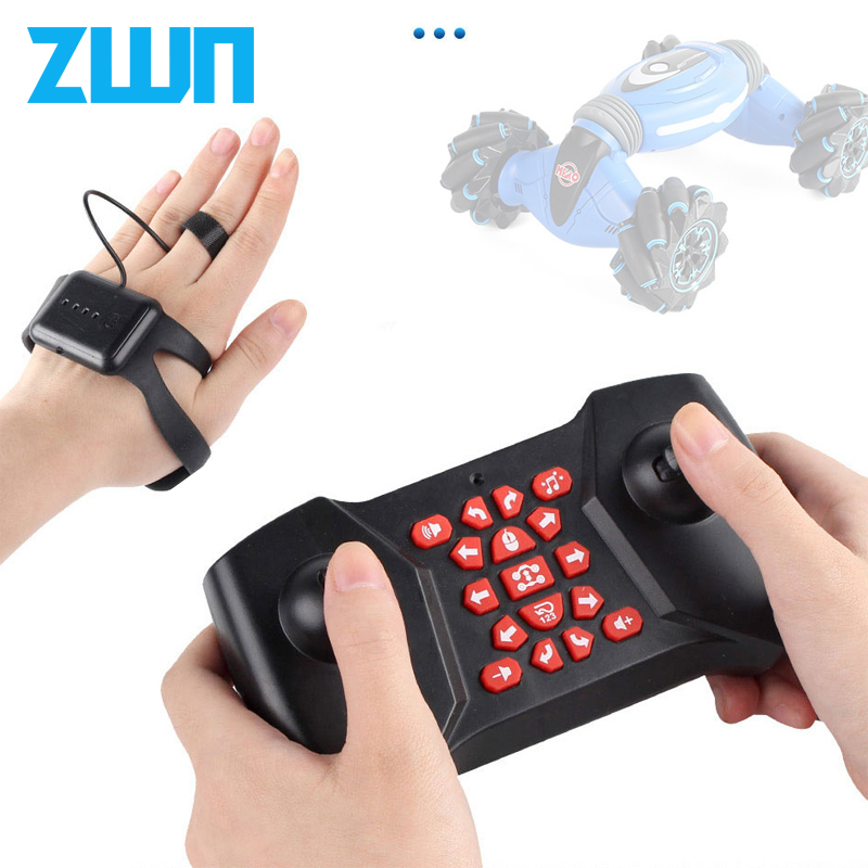 ZWN C1 Remote Control Stunt Car Gesture Induction Twisting Off Road Vehicle Light Music Drift Dancing Side Driving Accessories Parts & Accessories    - AliExpress