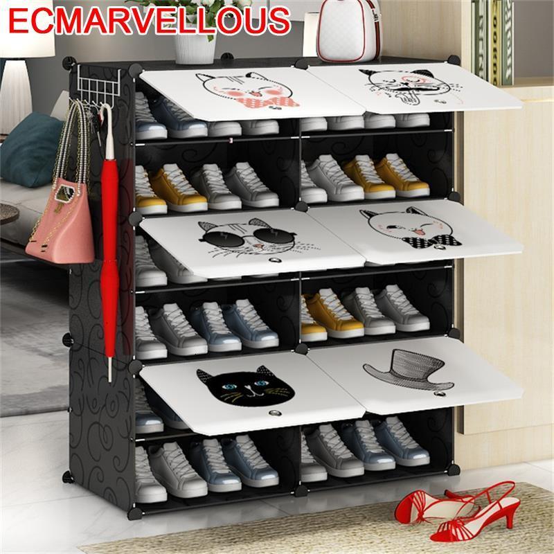 Mobili Zapatero Organizador De Zapato Moveis Para Casa Rangement Chaussure Cabinet Scarpiera Sapateira Furniture Shoes Rack
