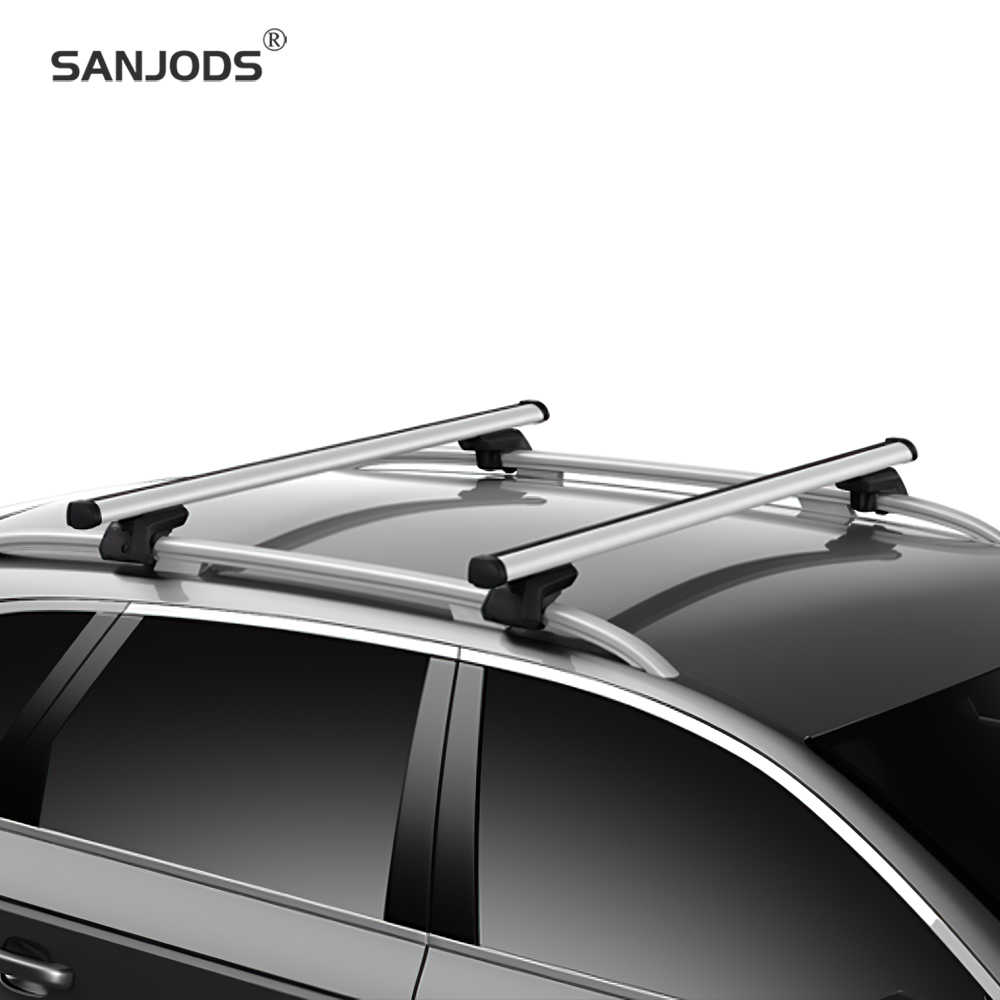 Sanjods Universal Roof Rack Crossbars Roof Bars Fit Most Suvs And Cars With Locks Anti Theft 165lb Capacity Aliexpress
