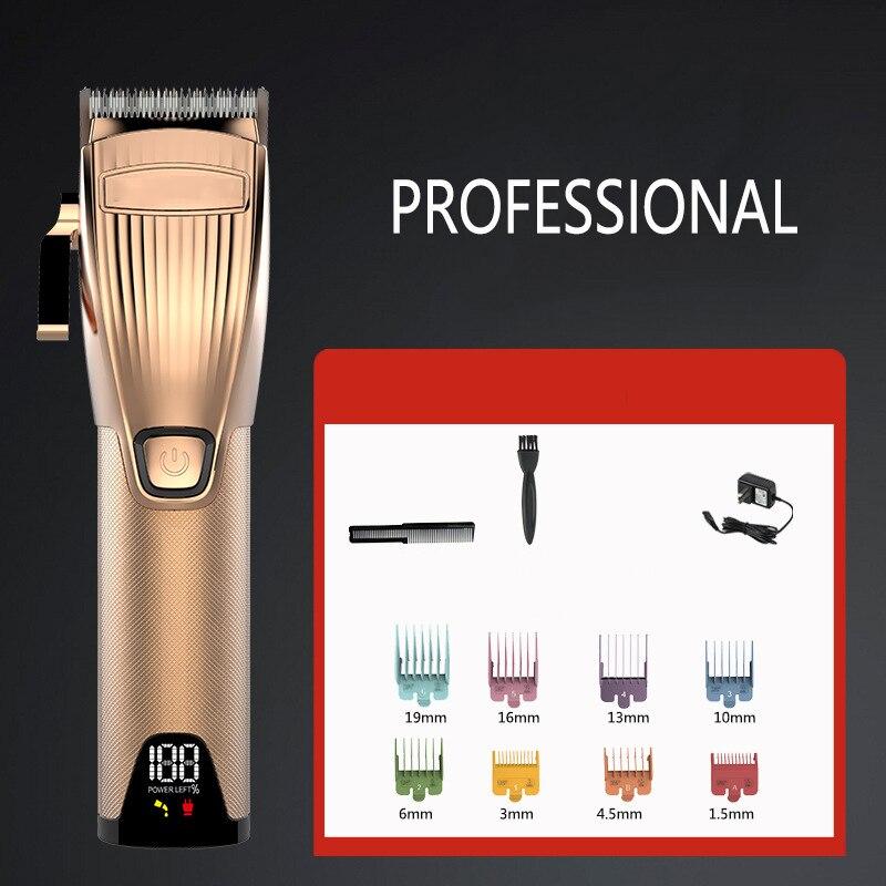 lcd barbearia recarregavel profissional corte de cabelo 05