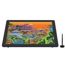 HUION Kamvas 22 Plus stylo graphique affichage numérique Art peinture tablette moniteur 21.5 pouces avec Anti-éblouissement verre gravé 140% sRGB