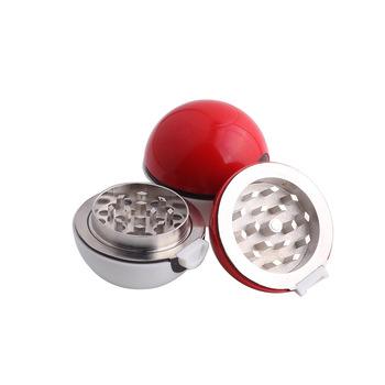 Wysokiej jakości stopu cynku młynek do ziół chwastów akcesoria do palenia 3 warstwy Pokeball młynek do metalu tanie i dobre opinie CN (pochodzenie) DH pokeball grinder