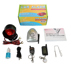 Car-Alarm-System Shock Wireless Siren Lcd-Display Anti-Thef-Pressure Two-Way NEW Vjoycar