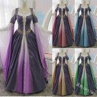 Women Victorian Style Dress Elegant Dresses for Women Plus Size Vintage Gothic Medieval Dress Gothic Maxi Dress Cosplay Dress Re